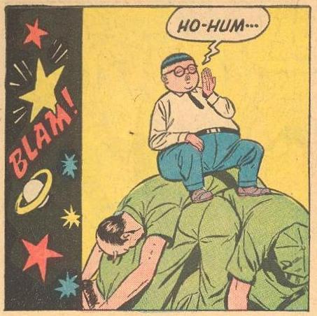 Herbie Popnecker examples: Says 'HO-HUM'