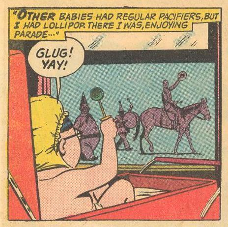 Baby Herbie: GLUG!