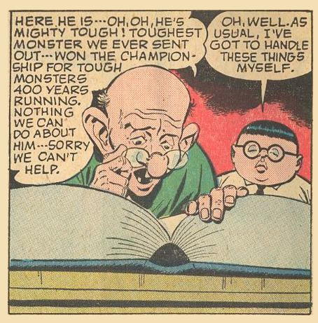Oh, well, Herbie's got to handle things himself .