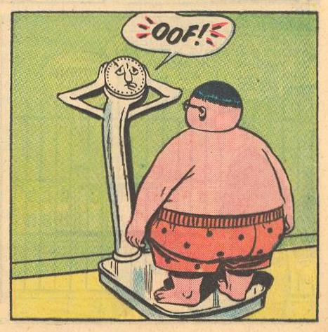 "Prime Example : ""OOF!"" Straining under Herbie's weight ."