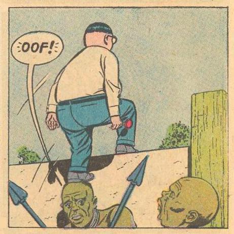 """OOF!"" Straining/Pain"