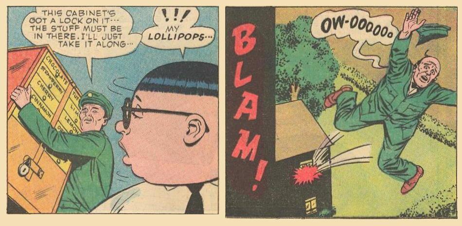 Take Herbie's lollipops ?