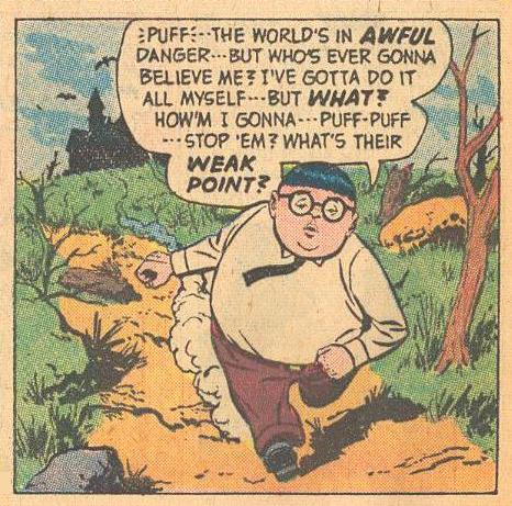 Herbie, running.