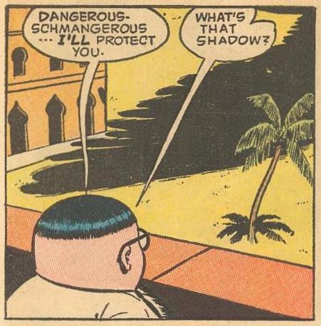 Herbie Popnecker examples: Says-Schmez