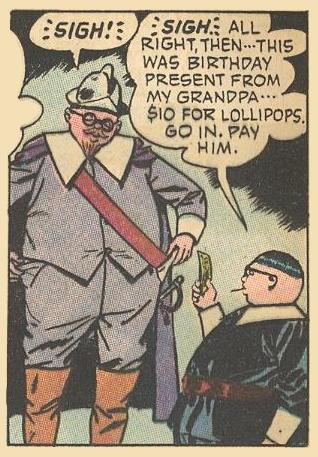 Herbie's ancestor and look-alike Miles Standish is short on cash, so Herbie makes a loan.