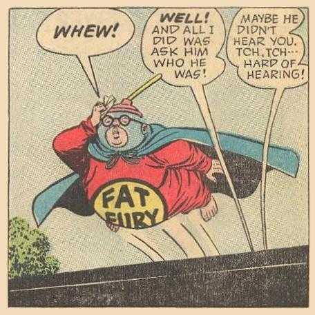 Fat Fury escaping from an unspeakable situation.