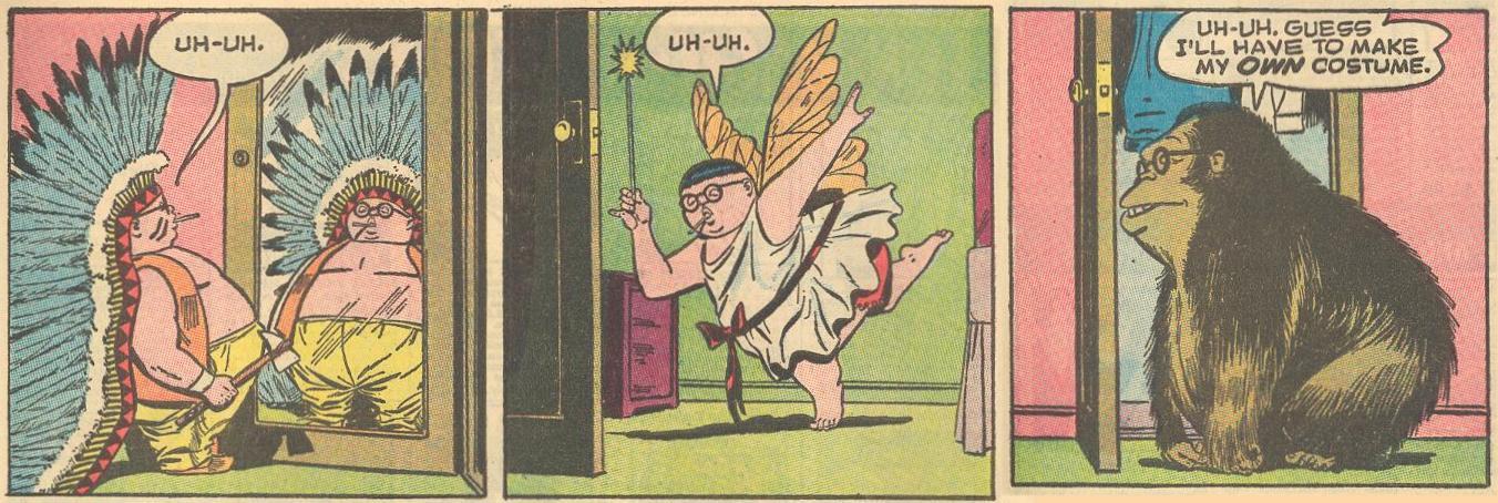 Not good superhero costumes .
