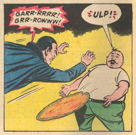 Man: Afraid of GR-Rowling Dracula.