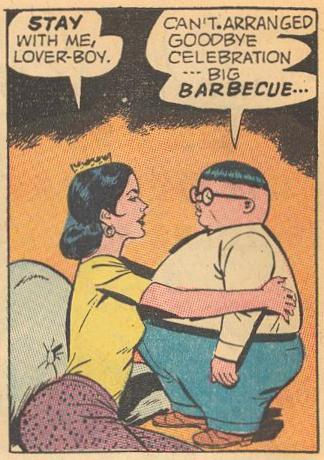 Here, Herbie looks well below three feet tall.