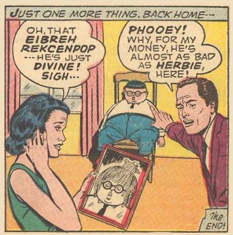 Herbie's disguises are effective.