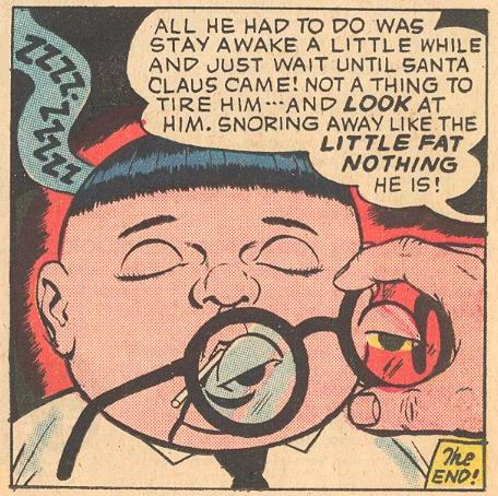 Herbie is wearing glasses with his eyes painted on.