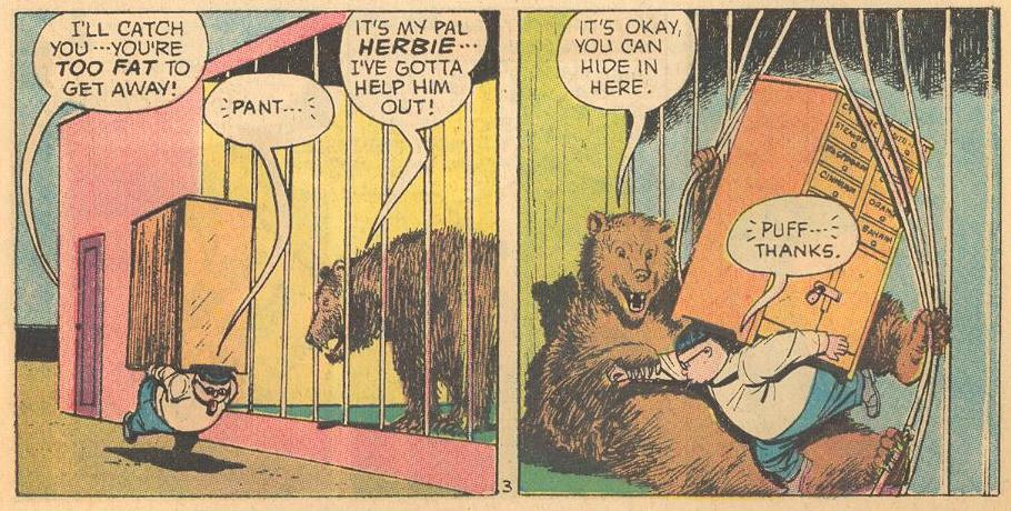#23 has a lot of dialog with animals, particularly bears.