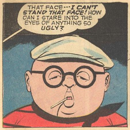 ...and then, Herbie in disguise is too much for Mr.