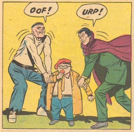 FW #116 Satan's assistants, Frankenstein and Dracula