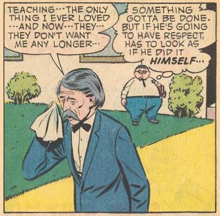Empathy for teacher.