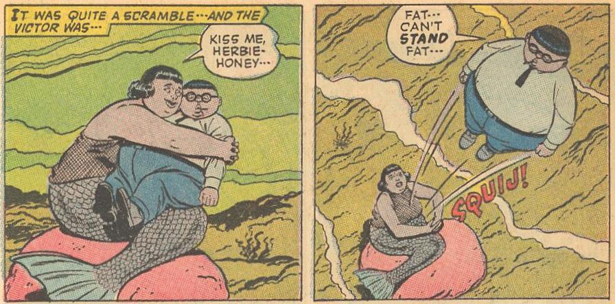 Kiss me, Herbie-honey...