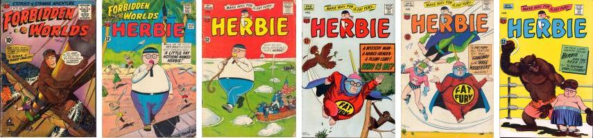 Herbie Comic Covers